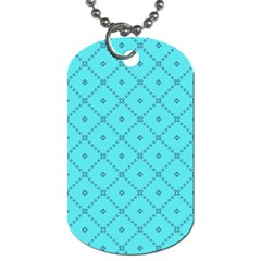 Pattern Background Texture Dog Tag (two Sides) by BangZart