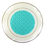 Pattern Background Texture Porcelain Plates Front