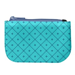 Pattern Background Texture Large Coin Purse