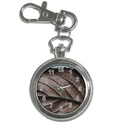 Leaf Veins Nerves Macro Closeup Key Chain Watches by BangZart