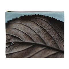 Leaf Veins Nerves Macro Closeup Cosmetic Bag (xl) by BangZart