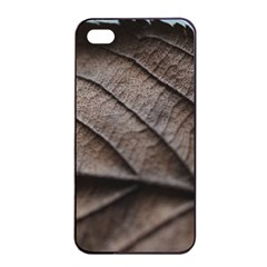 Leaf Veins Nerves Macro Closeup Apple Iphone 4/4s Seamless Case (black) by BangZart
