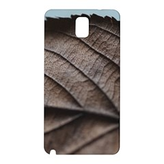 Leaf Veins Nerves Macro Closeup Samsung Galaxy Note 3 N9005 Hardshell Back Case by BangZart