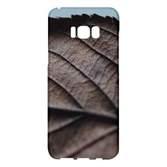 Leaf Veins Nerves Macro Closeup Samsung Galaxy S8 Plus Hardshell Case  by BangZart