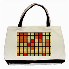 Mozaico Colors Glass Church Color Basic Tote Bag by BangZart
