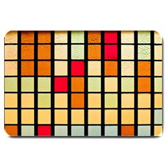 Mozaico Colors Glass Church Color Large Doormat  by BangZart