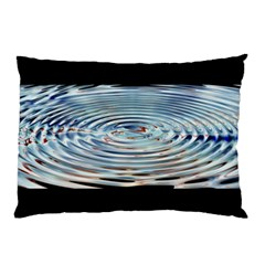 Wave Concentric Waves Circles Water Pillow Case by BangZart