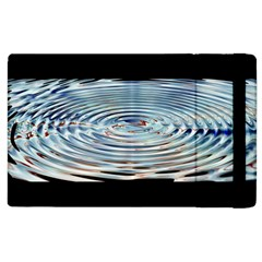 Wave Concentric Waves Circles Water Apple Ipad 2 Flip Case by BangZart