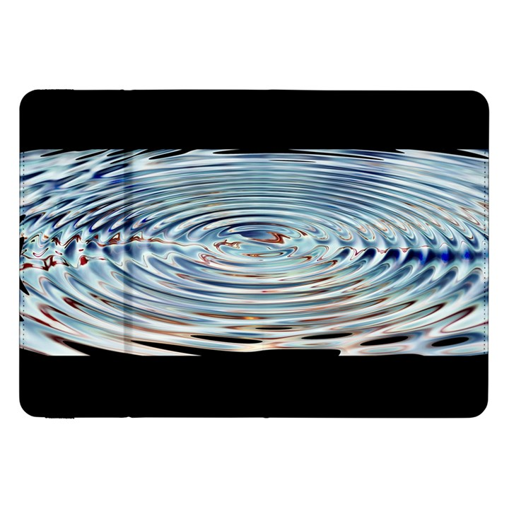Wave Concentric Waves Circles Water Samsung Galaxy Tab 8.9  P7300 Flip Case