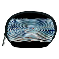 Wave Concentric Waves Circles Water Accessory Pouches (medium)