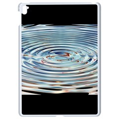 Wave Concentric Waves Circles Water Apple Ipad Pro 9 7   White Seamless Case
