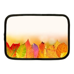 Autumn Leaves Colorful Fall Foliage Netbook Case (medium)  by BangZart