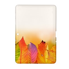 Autumn Leaves Colorful Fall Foliage Samsung Galaxy Tab 2 (10 1 ) P5100 Hardshell Case  by BangZart