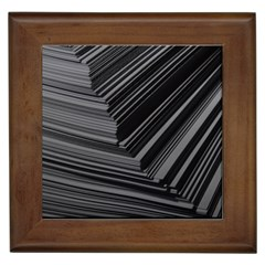 Paper Low Key A4 Studio Lines Framed Tiles