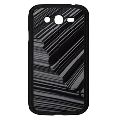 Paper Low Key A4 Studio Lines Samsung Galaxy Grand Duos I9082 Case (black) by BangZart