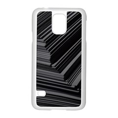 Paper Low Key A4 Studio Lines Samsung Galaxy S5 Case (white)