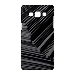 Paper Low Key A4 Studio Lines Samsung Galaxy A5 Hardshell Case  by BangZart