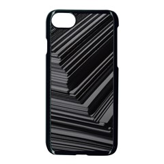 Paper Low Key A4 Studio Lines Apple Iphone 7 Seamless Case (black)