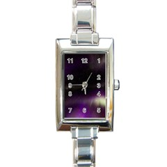The Northern Lights Nature Rectangle Italian Charm Watch by BangZart