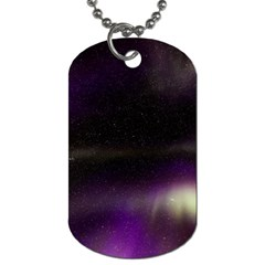 The Northern Lights Nature Dog Tag (two Sides) by BangZart