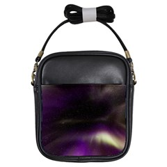 The Northern Lights Nature Girls Sling Bags by BangZart