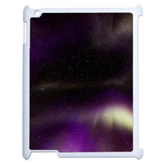 The Northern Lights Nature Apple Ipad 2 Case (white) by BangZart