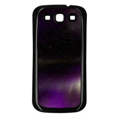 The Northern Lights Nature Samsung Galaxy S3 Back Case (black) by BangZart