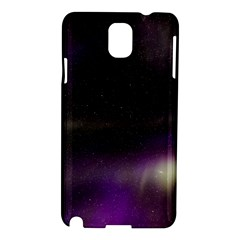 The Northern Lights Nature Samsung Galaxy Note 3 N9005 Hardshell Case by BangZart