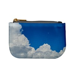 Sky Clouds Blue White Weather Air Mini Coin Purses by BangZart