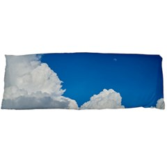Sky Clouds Blue White Weather Air Body Pillow Case Dakimakura (two Sides) by BangZart