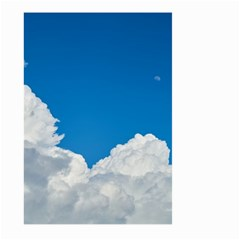Sky Clouds Blue White Weather Air Large Garden Flag (two Sides) by BangZart