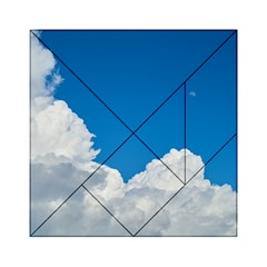 Sky Clouds Blue White Weather Air Acrylic Tangram Puzzle (6  X 6 ) by BangZart