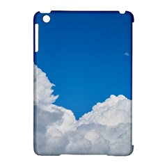 Sky Clouds Blue White Weather Air Apple Ipad Mini Hardshell Case (compatible With Smart Cover) by BangZart