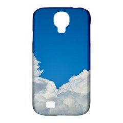 Sky Clouds Blue White Weather Air Samsung Galaxy S4 Classic Hardshell Case (pc+silicone)
