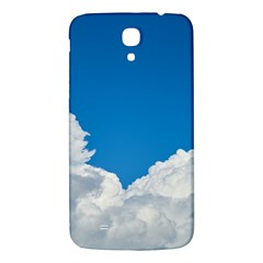 Sky Clouds Blue White Weather Air Samsung Galaxy Mega I9200 Hardshell Back Case by BangZart