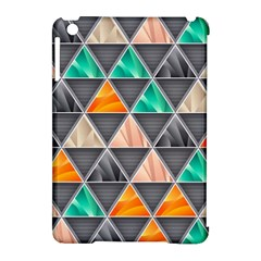 Abstract Geometric Triangle Shape Apple Ipad Mini Hardshell Case (compatible With Smart Cover) by BangZart