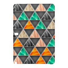 Abstract Geometric Triangle Shape Samsung Galaxy Tab Pro 10 1 Hardshell Case by BangZart