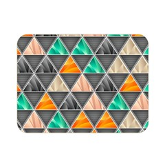 Abstract Geometric Triangle Shape Double Sided Flano Blanket (mini)  by BangZart