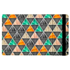 Abstract Geometric Triangle Shape Apple Ipad Pro 9 7   Flip Case