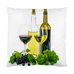 White Wine Red Wine The Bottle Standard Cushion Case (one Side) by BangZart