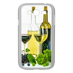 White Wine Red Wine The Bottle Samsung Galaxy Grand Duos I9082 Case (white)