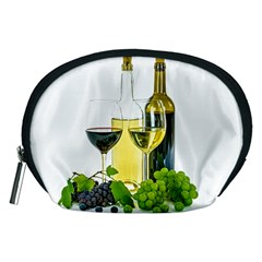 White Wine Red Wine The Bottle Accessory Pouches (medium)  by BangZart