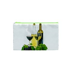 White Wine Red Wine The Bottle Cosmetic Bag (xs) by BangZart