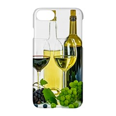White Wine Red Wine The Bottle Apple Iphone 7 Hardshell Case by BangZart