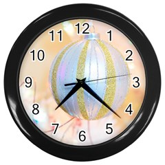 Sphere Tree White Gold Silver Wall Clocks (black) by BangZart