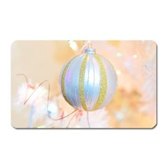 Sphere Tree White Gold Silver Magnet (rectangular) by BangZart