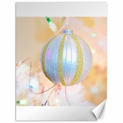 Sphere Tree White Gold Silver Canvas 18  X 24   by BangZart
