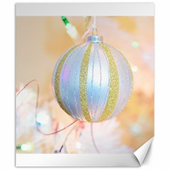 Sphere Tree White Gold Silver Canvas 20  X 24   by BangZart