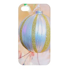 Sphere Tree White Gold Silver Apple Iphone 4/4s Premium Hardshell Case by BangZart