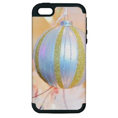 Sphere Tree White Gold Silver Apple Iphone 5 Hardshell Case (pc+silicone) by BangZart